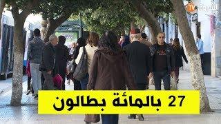 27 بالمائة من شباب الجزائر بطالون
