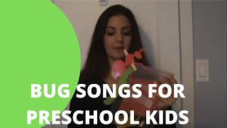 Bug Songs for Preschoolers | Bug Songs for Toddlers | Songs About Bugs