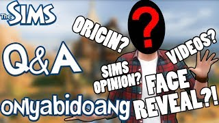 The Sims Styled QNA + FACE REVEAL?! (50K SUBS SPECIAL)