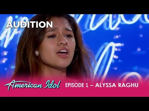 Alyssa Raghu: She's Only 15 But Her Audition Will Give You ALL The FEELS! | American Idol 2018