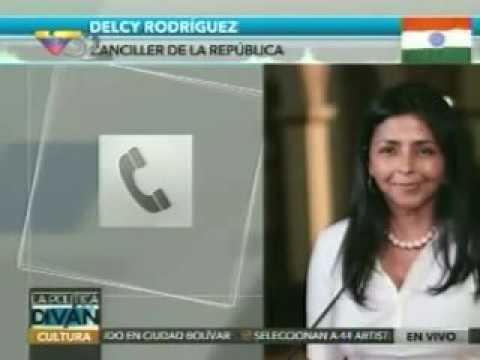 """Rodríguez luego de reunión en la India: """"Hemos acordado expandir nuestra cooperación"""""""