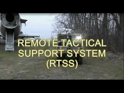 Remote Tactical Support System - Parisien Research Corporation/Provectus Robotics Systems