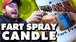 Fart Spray Candle(Subscribe to The Creatures: http://bit.ly/tchsub We create our very own candle with a very special scent inside, Liquid Ass! - - - - - - - Website- http://bit.ly/tchsite ..., 2016-03-26T18:00:00.000Z)