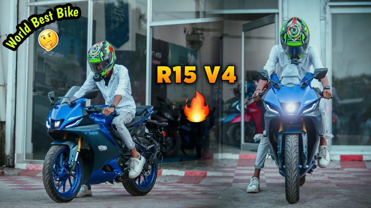 Yamaha R15 V4 On Fire🔥   World Best Bike?🤔   SK LifeStyle