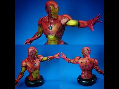 Chameleon Paints Tutorial 8 -  Repainting IRONMAN with Chameleon Paints