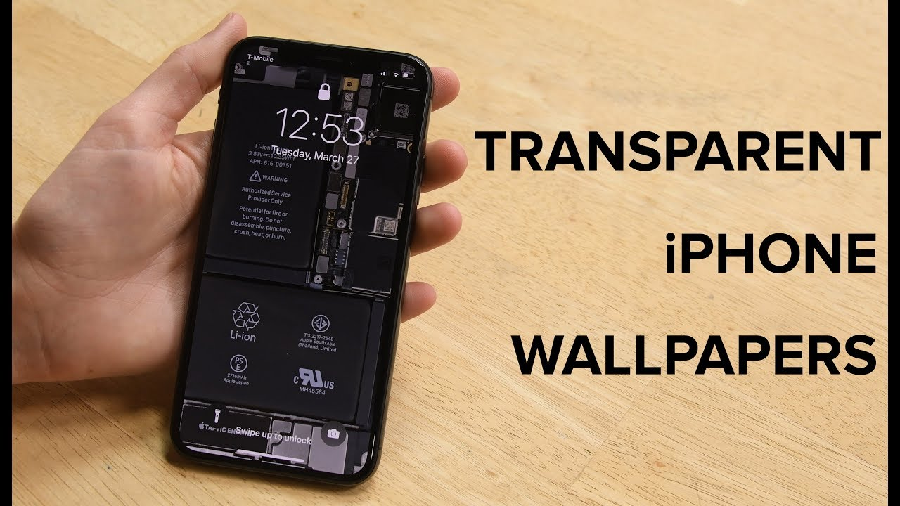 Free See-Through iPhone Wallpapers! - YouTube