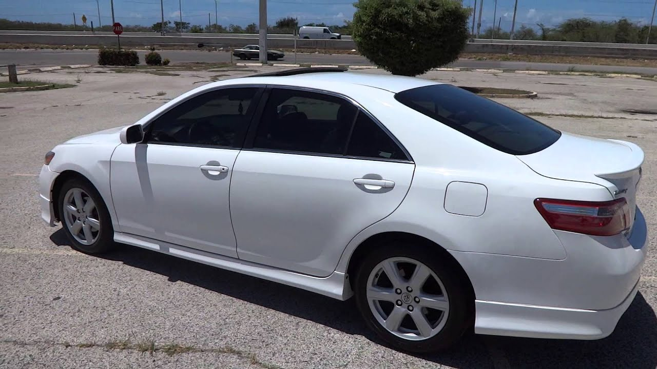2014 Toyota Camry For Sale >> TOYOTA CAMRY SPORT 2008 (JUSBER MUNOZ) (FOR SALE) - YouTube