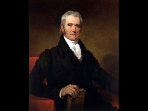 Influence of Chief Justice John Marshall Preview