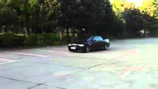 BMW M3 E46 Drift donuts