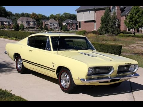 1968 Plymouth Barracuda Formula S For Sale