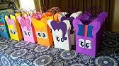 5c5bc6f46 Cómo hacer bolsitas de dulces para fiestas con papel | facilisimo ...