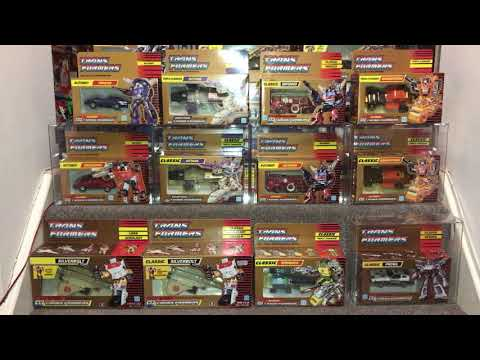 Classic Transformers Gold Boxed Generation 1 Figures - All Still Sealed by Toys Are Russ