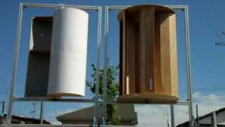 Savonius Multi bucket and Standard(2/2) マルチバケットサボニウス風力発電機