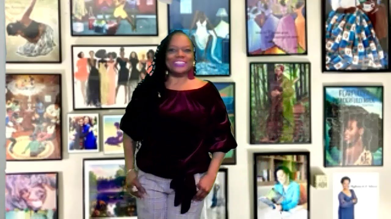 2nd Presentation at the Black Heritage Art Show 2021