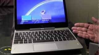 HP Elitebook Revolve Hands-on