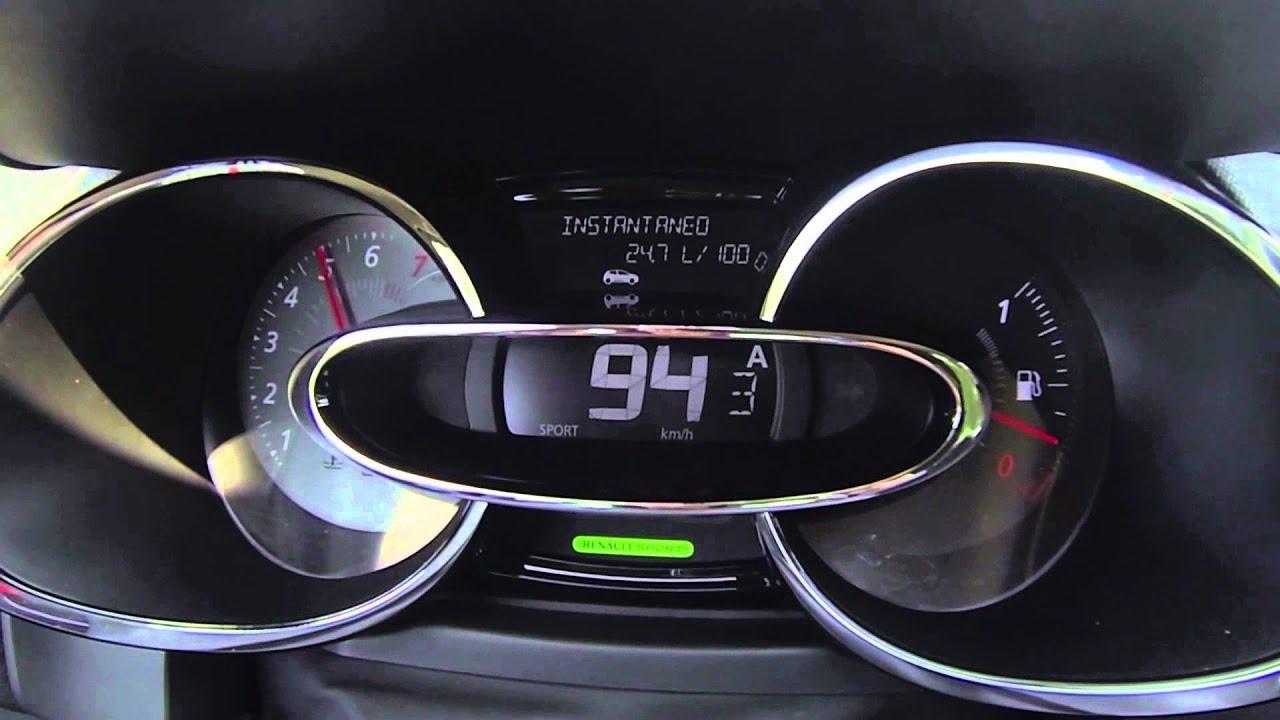 Renault Clio Rs Modelo 2013 Sonido Dentro Del Habitáculo Y Del Escape