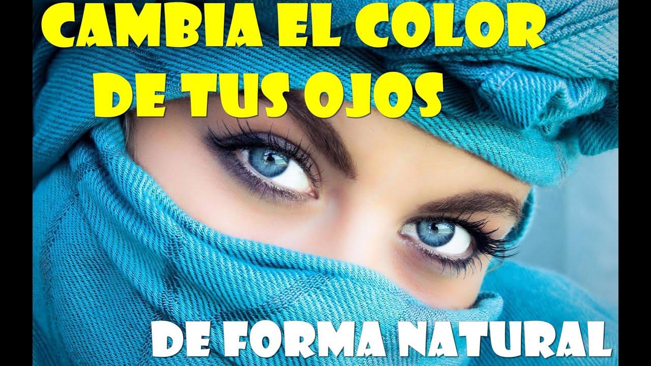 Como aclarar el color de los ojos youtube for Como se maquillan los ojos ahumados