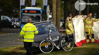 Fietser overleden na aanrijding met auto op N377