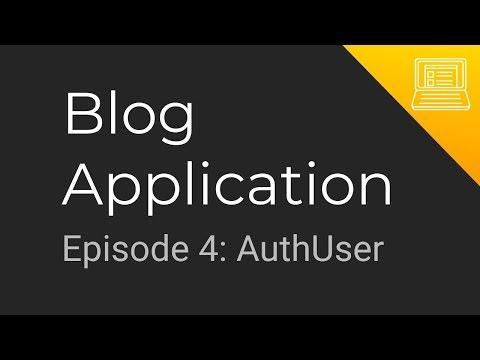 Blog App Tutorial: Episode 4 - AuthUser (Golang, gRPC Microservices, MongoDB + Progressive Web App) thumbnail