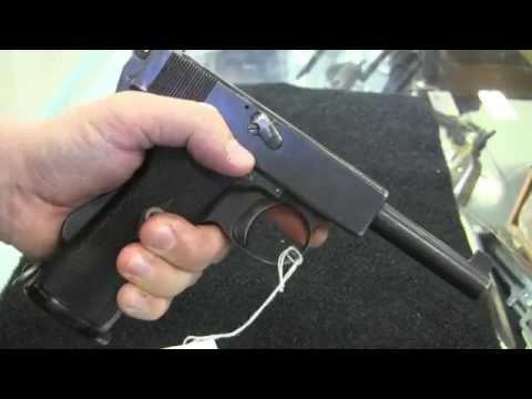 Webley & Scott 1913 Naval Model Automatic Pistol - YouTube