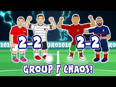 🤯2-2! Germany Hungary Portugal France MADNESS! (Ronaldo Benzema Goals Highlights Euro 2020)