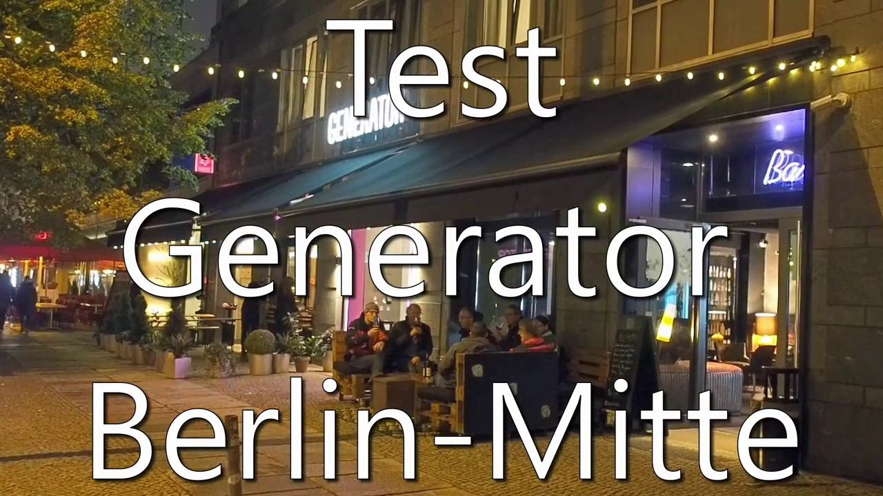 test generator berlin mitte hostel und hotel youtube. Black Bedroom Furniture Sets. Home Design Ideas