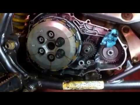 How to replace the clutch on a Suzuki LTZ 400. Clutch Replacement