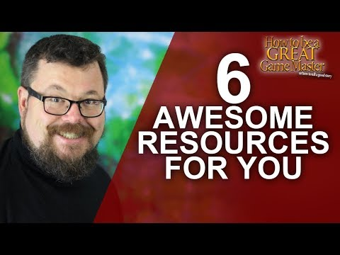 Six Awesome online resources for your next Roleplaying game