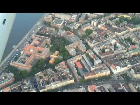 Flight over BME - Technical University of Budapest