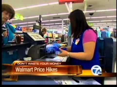 Wal-Mart prices are going up