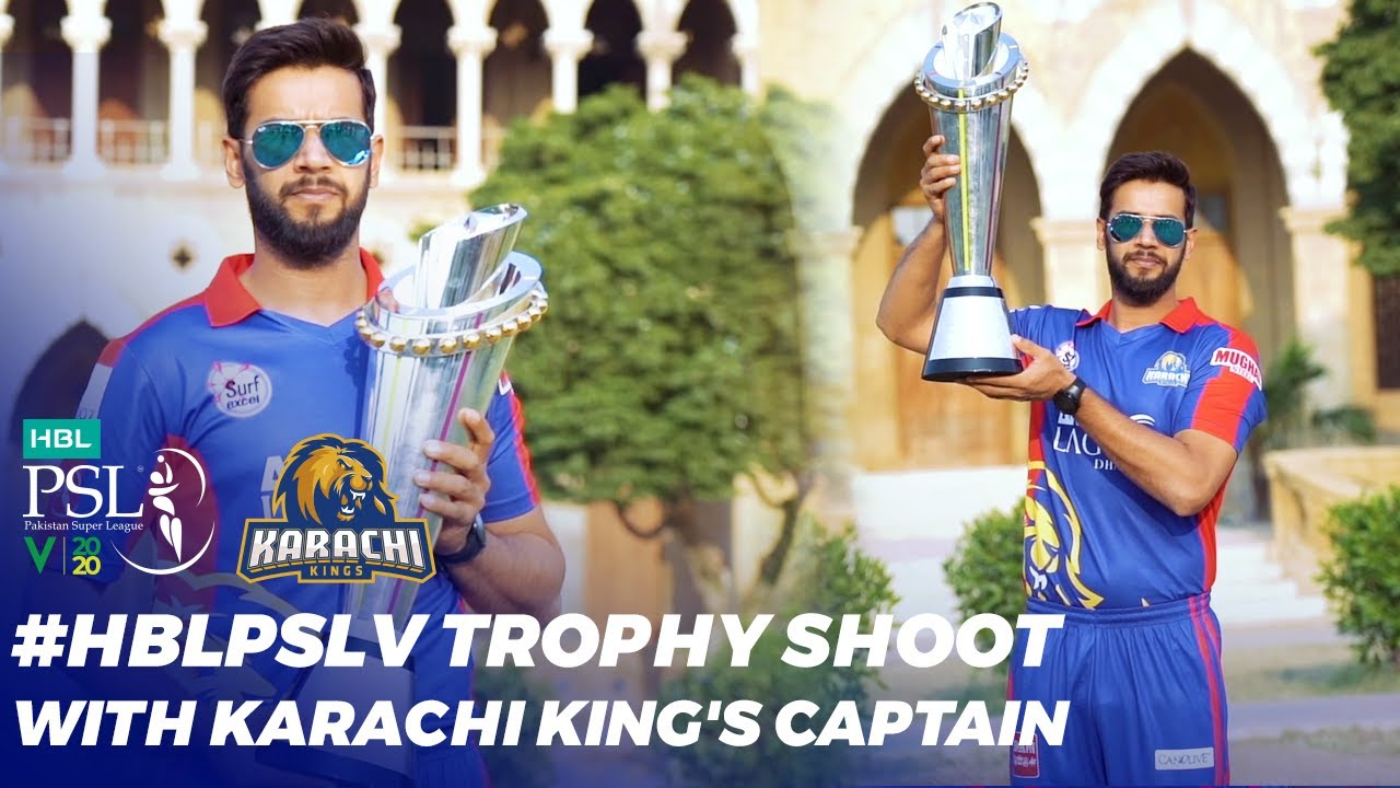 #HBLPSLV Trophy Shoot With Karachi King's Captain, Imad Wasim | HBL PSL 2020 | MB2T
