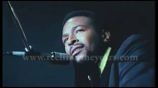 """Marvin Gaye- """"What's Going On/What's Happening, Brother"""" Live 1972 (Reelin' In The Years Archive)"""