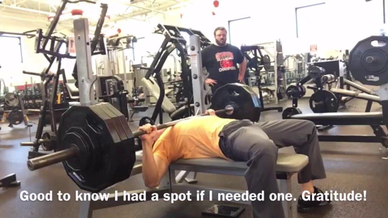 Bench Press Tips Form 365lb Bench Press 153lb Body Weight Failed 385lb Youtube