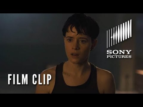 THE GIRL IN THE SPIDER'S WEB Clip - Panic Room