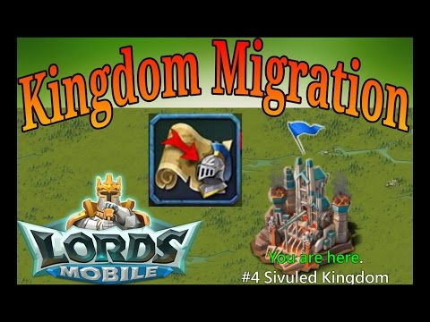 Lords Mobile Kingdom Migration