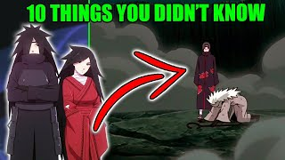 10 Things You Didn't Know About Madara Uchiha The 'First' Hokage in Naruto & Boruto