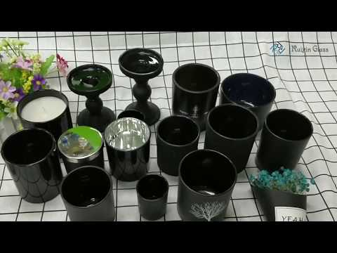 Black Glass Candle Holders Suppliers and Manufacturers at  glassware-suppliers.com