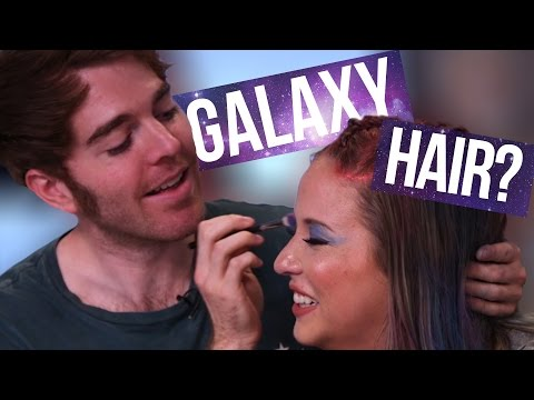 Galaxy Hair w/ Shane Dawson (Beauty Break)