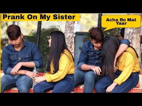 Prank On My Sister Gone Emotional 😭   Mohit Saini