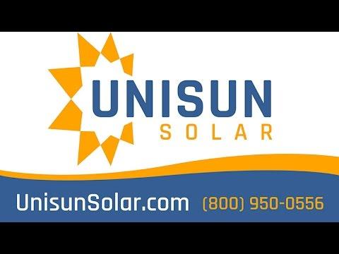 Unisun Solar (800) 950-0556 Commerce, California