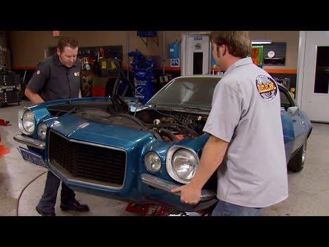 Rebuilding A 1970 Chevy Camaro RS/SS L78 396 - MuscleCar S6, E4