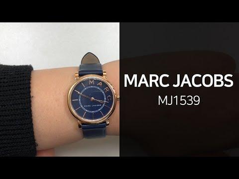 마크제이콥스 MJ1539 가죽시계 1분 영상 - 타임메카