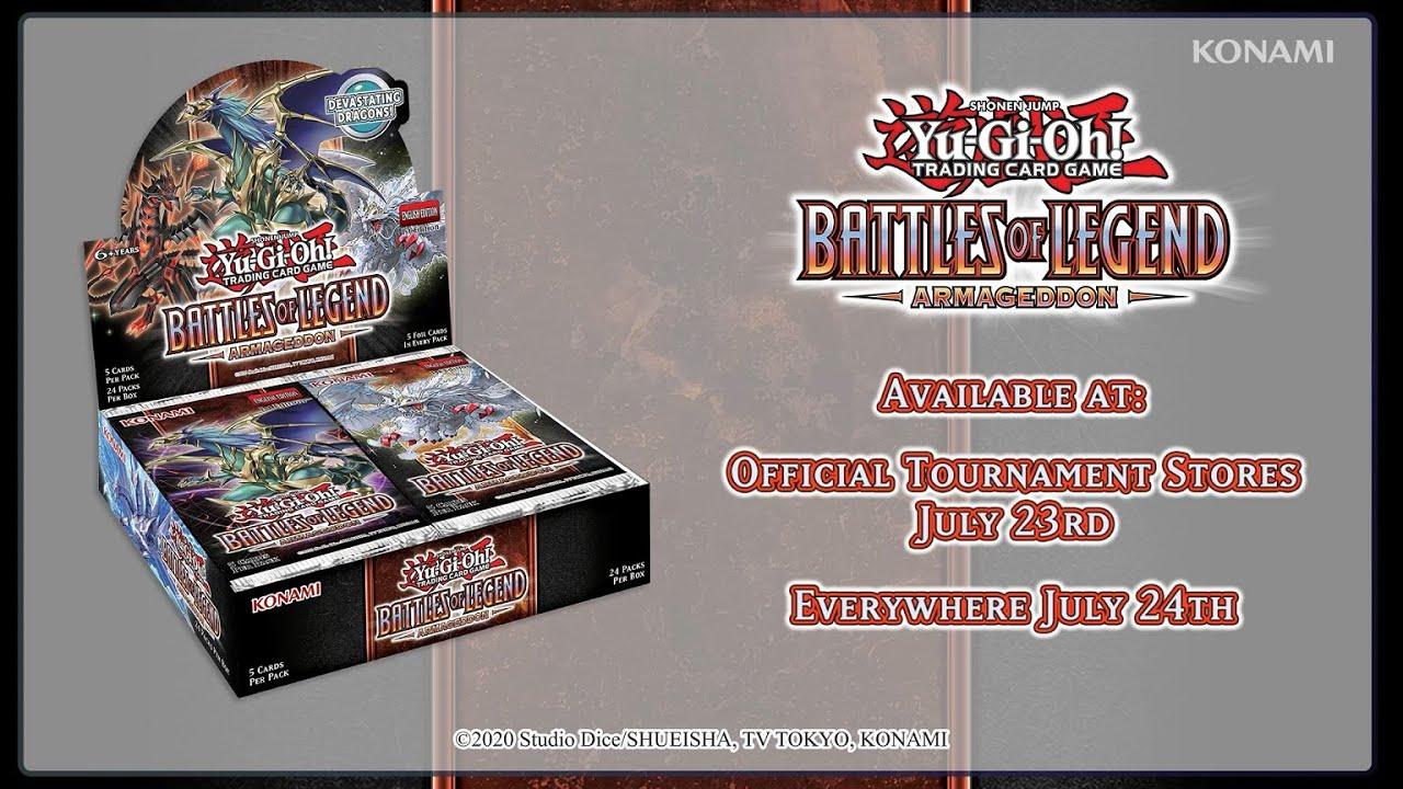 YuGiOh 1 Booster Battles of Legend: Armageddon Deutsch