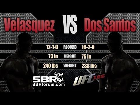 Cain Velasquez  vs Junior Dos Santos Preview   UFC 166 Free Picks