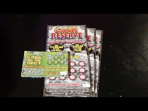 Ep. 48: CASH ON THE SPOT (x15) + CASH RESERVE FL Lottery Scratch Tickets