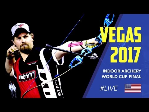 Live Recurve and Compound Finals | Las Vegas 2017 Indoor Archery World Cup Final