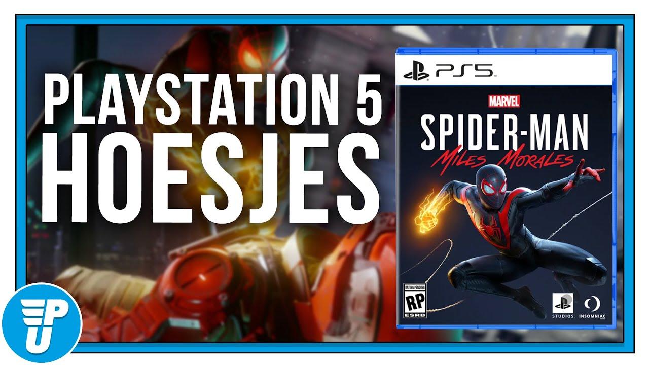 Zo zien straks de hoesjes van je PS5-games eruit