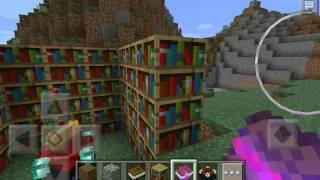 Как сделать зачарованную книгу в Minecraft PE(, 2016-05-17T07:39:00.000Z)