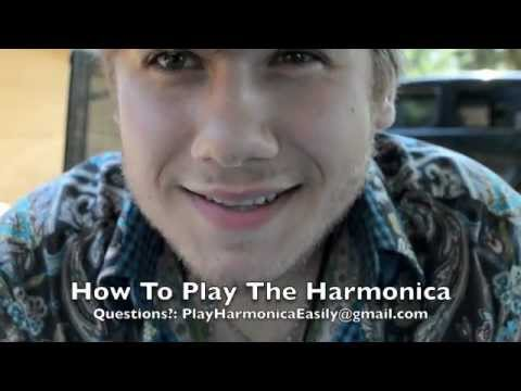How to Play The Harmonica: Basics For Harp Beginners