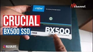 Crucial BX500 240GB (CT240BX500SSD1) unboxing